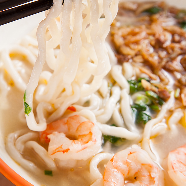 鮮蝦榨菜肉絲麵 3